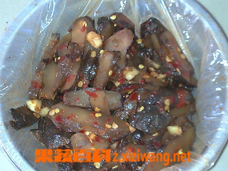 果蔬百科酱油洋姜的腌制方法